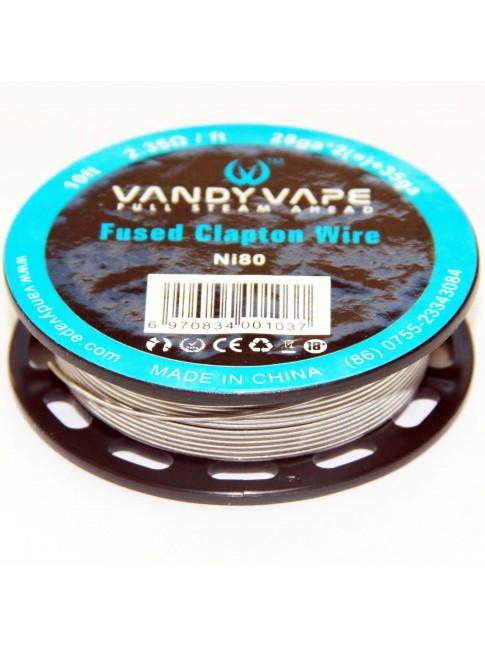 Köp Vandy Vape Triple Fused Clapton Ni80 Wire i vape shop i