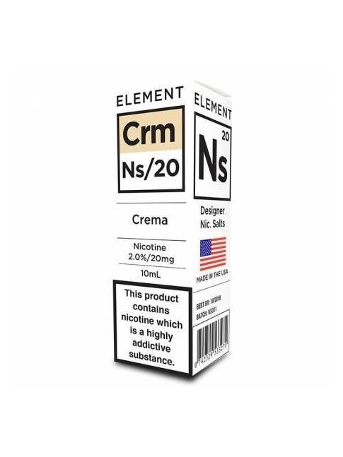 Buy Crema NS20 E-Liquid in our eshop – 7Vapes.se